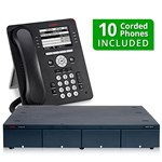Avaya 700476005-9608-8CO-10Pack IP Office 500 V2 Basic Edition Package
