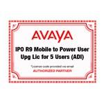 Avaya AVA-275644 IPO R9 Mobile to Power User Upgrade 5 Users ADI Licen